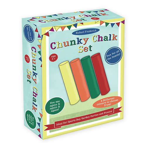 Chunky Chalk Set - Fun Day Games