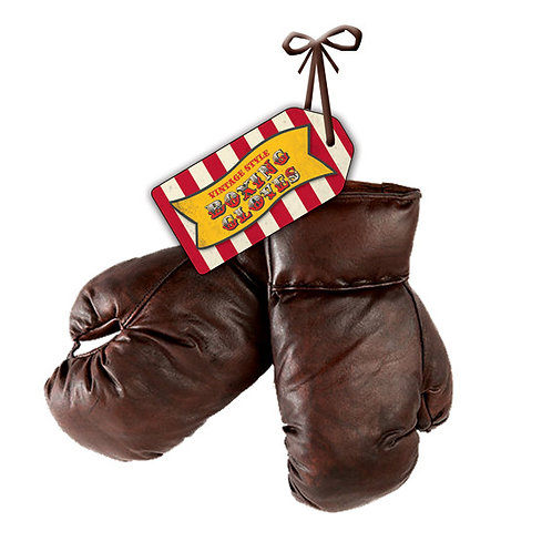 Vintage Style Boxing Gloves