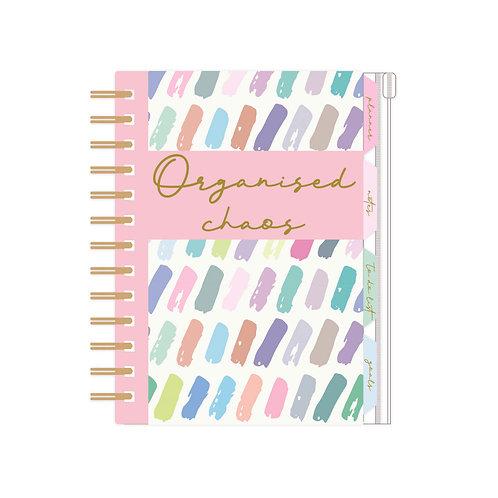Organiser, Planner, Notes, To Do List, Addresses - Pastel 'Organised Chaos'