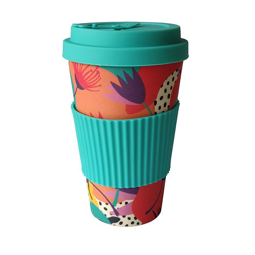 Tropical Jazz - Bamboo Coffee Cup