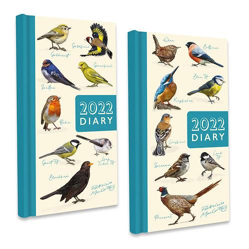2022 Slim Diary - Patricia MacCarthy Birds