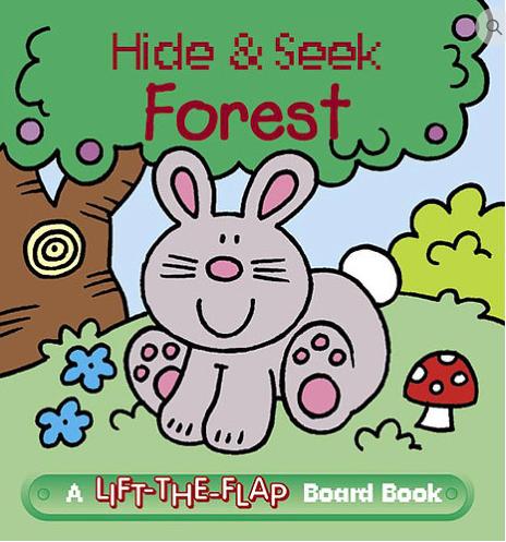 Hide & Seek Forest - Mini Lift-the-Flap Board Book