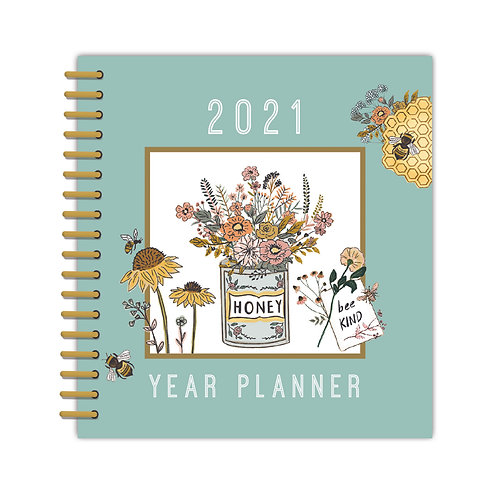 2021 Beekeeper Month to View Year Planner
