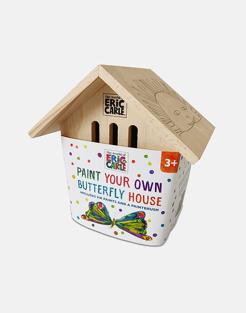 Paint Your Own Butterfly House - Very Hungry Caterpillar