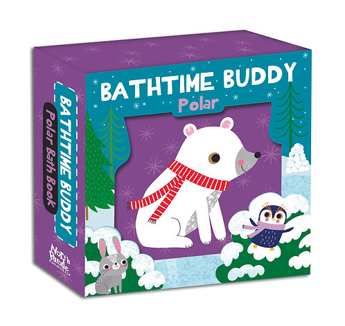 Bathtime Buddy Book - Polar