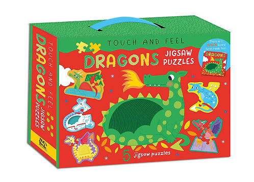 Dragons Jigsaw Puzzles - Touch and Feel