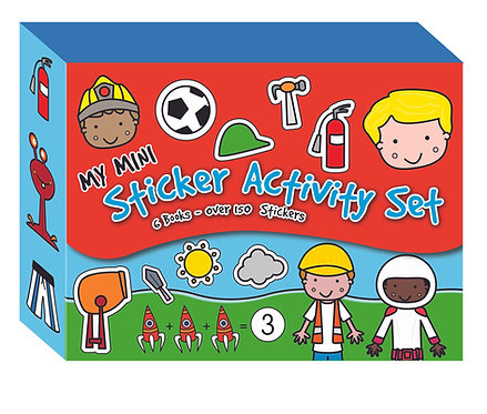 Mini Sticker Activity Set - Red