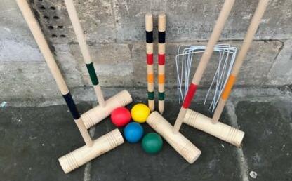 Quality Wooden Croquet Set