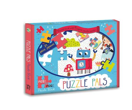 Puzzle Pals - Piece by Piece Puzzle Book