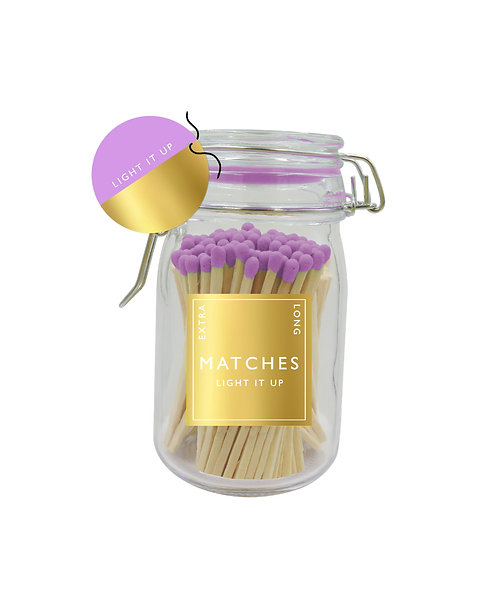 Light It Up - Purple Tipped Matches