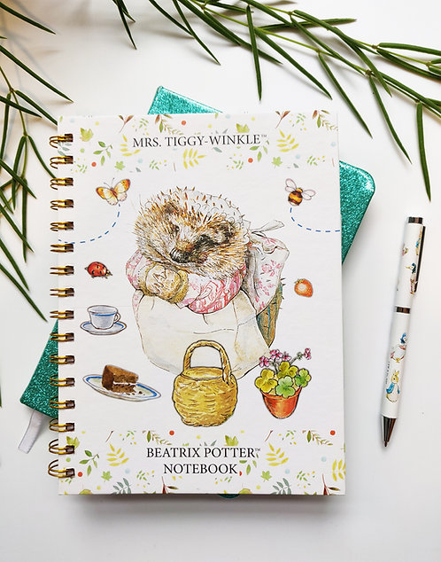 A5 Notebook - Mrs Tiggy-Winkle