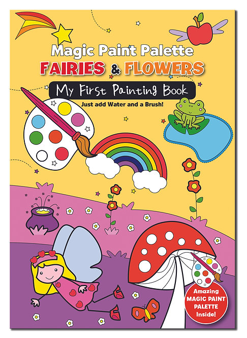Magic Paint Palette - Fairies & Flowers