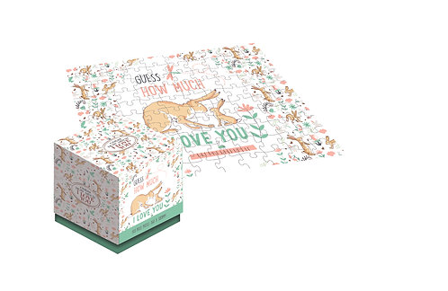 Guess How Much I Love You - 100 Piece Jigsaw Puzzle Cube