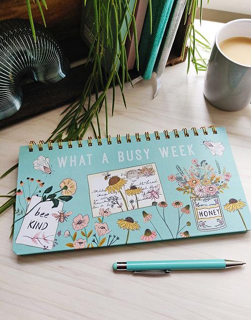 Weekly Planner and Pen Set - Beekeeper