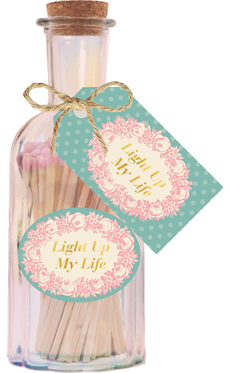 Light Up My Life - Pink Tipped Matches