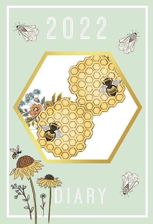 2022 A5 Diary - Beekeeper
