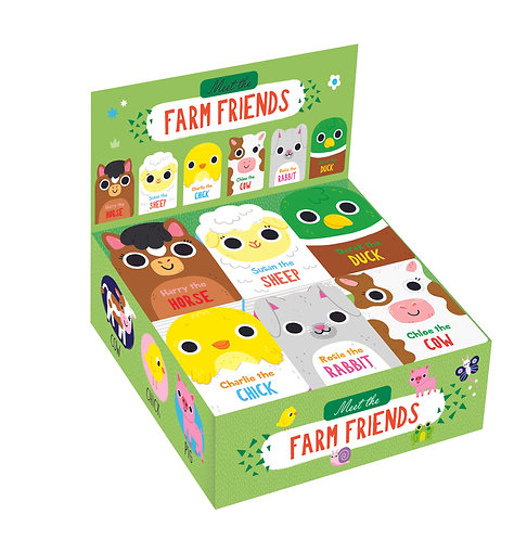 Meet the Farm Friends Mini Board Books