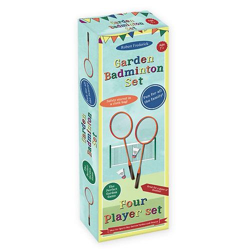 Deluxe Garden Badminton Set - Fun Day Games