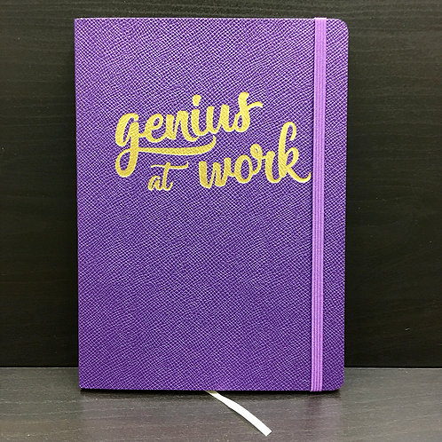 'Genius at Work' A5 Flexi Journal
