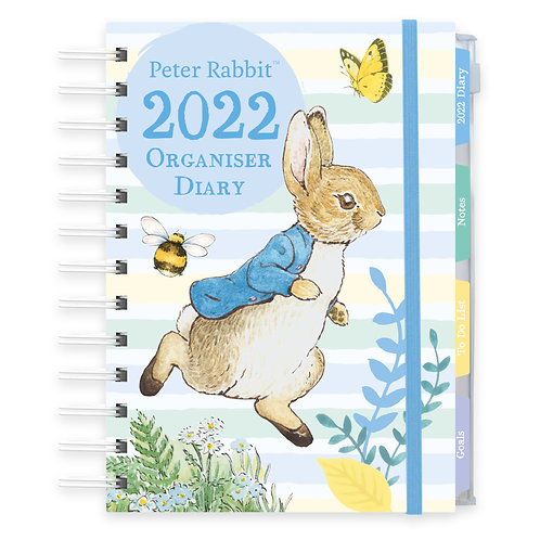 2022 Organiser Diary - Beatrix Potter Peter Rabbit