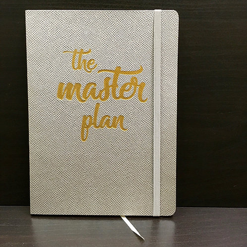 'The Master Plan' A5 Flexi Journal