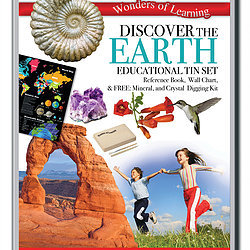 Discover the Earth - Wonders of Learning Tin Set