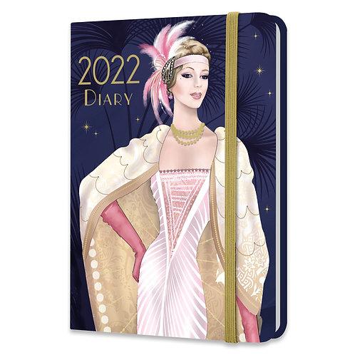 2022 A6 Diary - Claire Coxon Art Deco