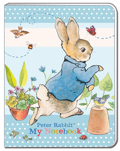 A6 Soft Cover Notebook - Peter Rabbit