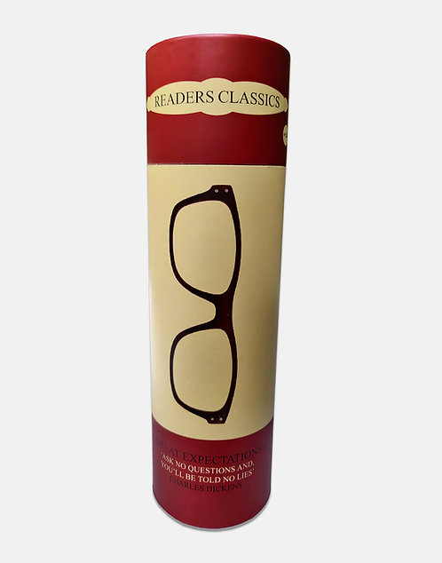 Reading Glasses in a Tube - Great Expectations