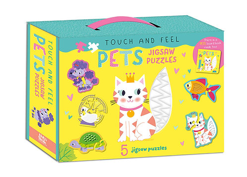 Pets Jigsaw Puzzles - Touch and Feel