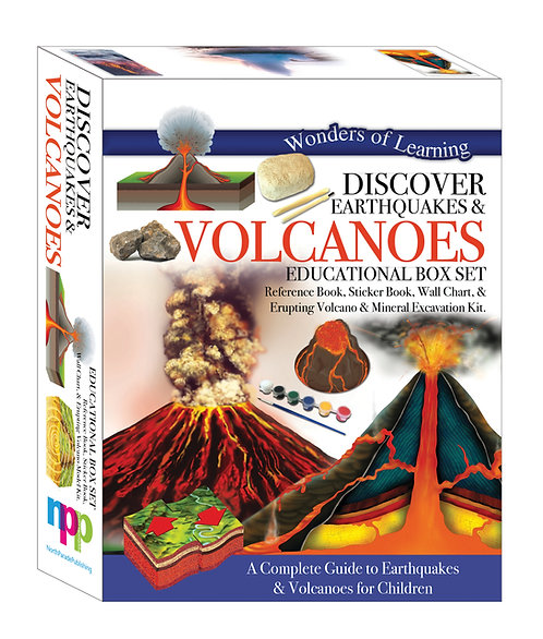 Discover Earthquakes & Volcanoes - Wonders of Learning Box Set