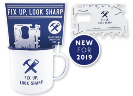 Mug and Credit Card Tool Gift Set