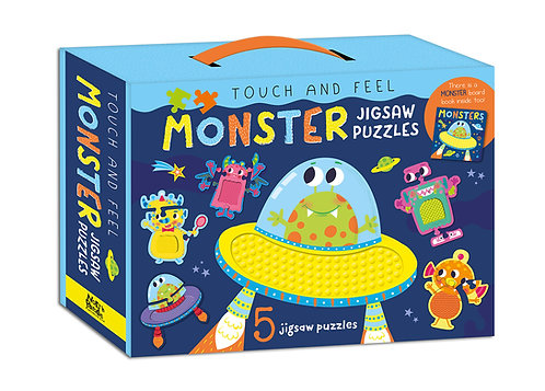 Monster Jigsaw Puzzles - Touch and Feel