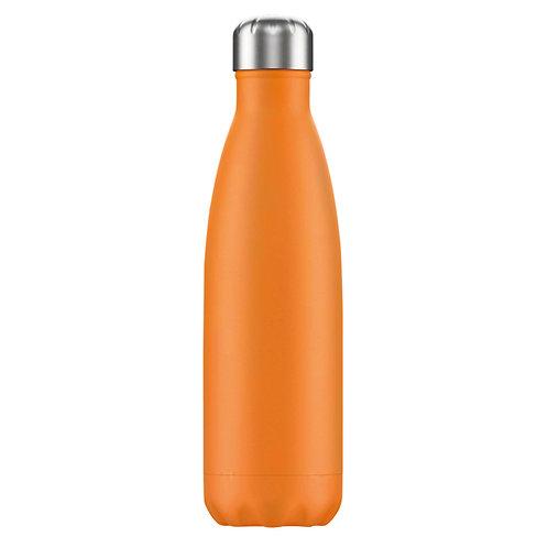 Large 1 Litre Water Bottle - Orange