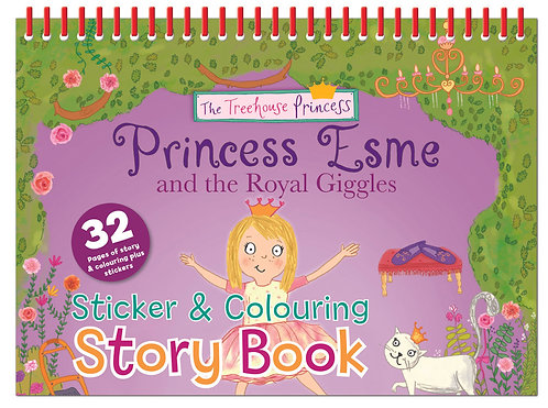 Princess Esme Sticker & Colouring Story Book