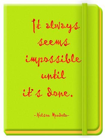 Journals for Success - Nelson Mandela