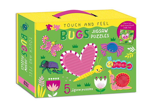 Bugs Jigsaw Puzzles - Touch and Feel
