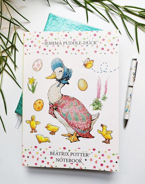 B5 Notebook - Jemima Puddle-Duck