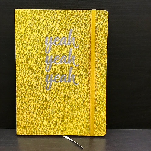 'Yeah Yeah Yeah' A5 Flexi Journal