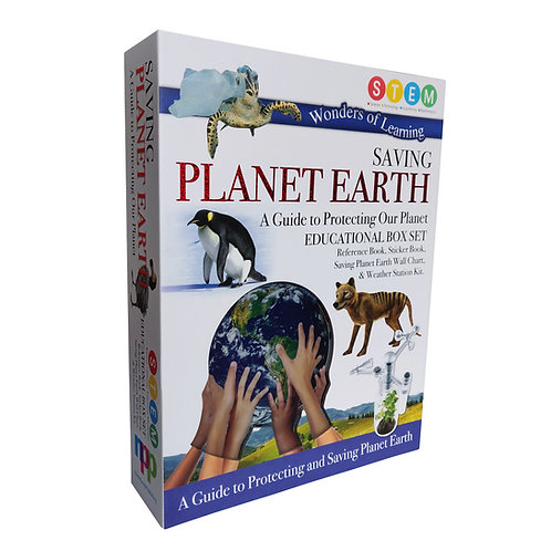 Wonders of Learning Box Set - Saving Planet Earth