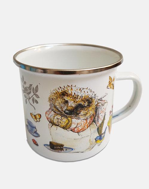 Beatrix Potter's Mrs Tiggy-Winkle Enamel Mug