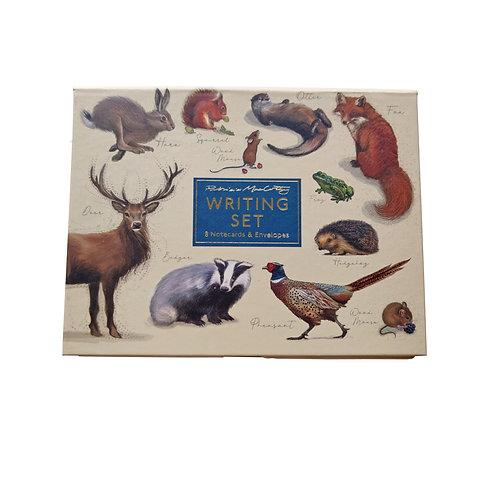 Patricia MacCarthy Wildlife Notecard Set