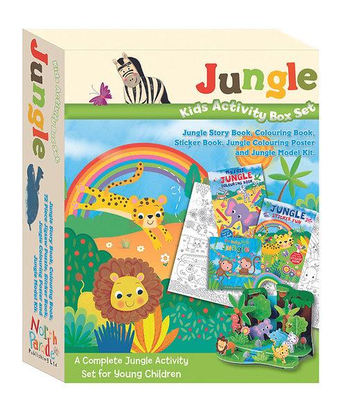 Kids Activity Box Set - Jungle