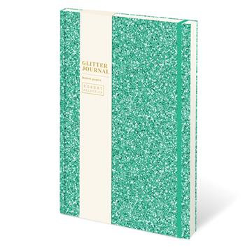 Glitter Journal - Green