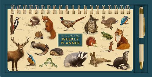 Patricia MacCarthy Wildlife Weekly Planner & Pen Set