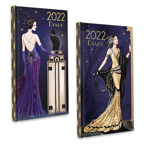2022 Slim Diary - Claire Coxon Art Deco