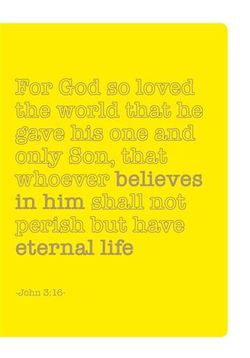 Journals for Success - John 3:16