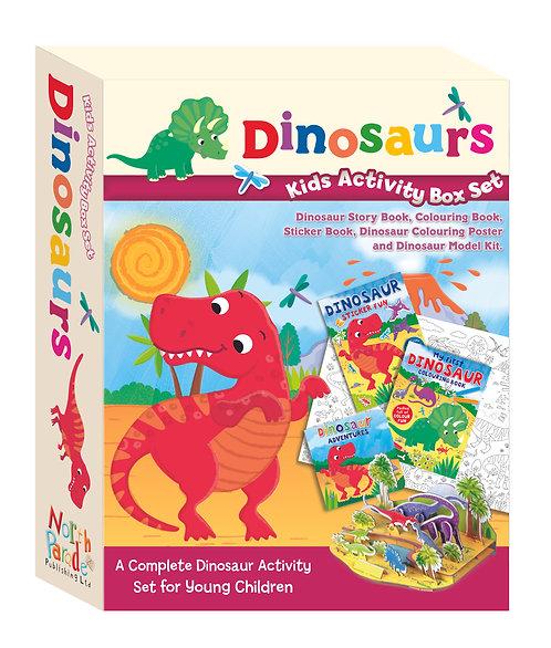 Kids Activity Box Set - Dinosaurs