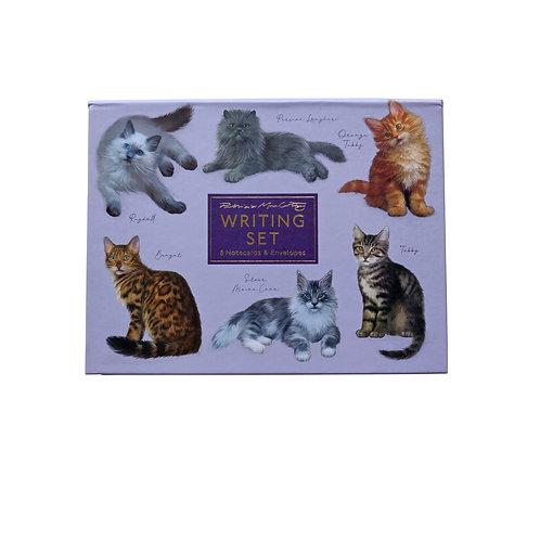 Patricia MacCarthy Cats Notecard Set