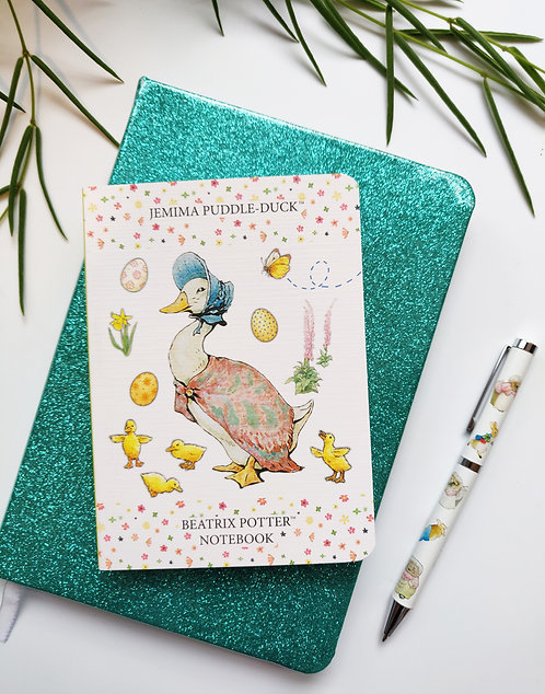 A6 Notebook - Jemima Puddle-Duck